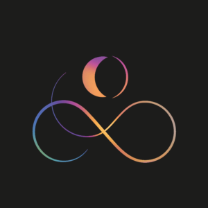 graphisme spirituel, logo, spirituel, graphisme, bien-être, yoga, infini, endless knot, moon, sun, meditation, spa, cosmos, wave
