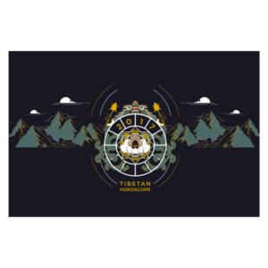 spiritual graphic design, graphisme spirituel, graphisme, spirituel, bien-être, motif, digital artwork, calendrier, tibétain, tibet, dharamshala, inde, dharamsala, omalaya