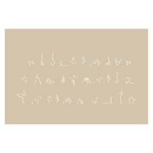 spiritual graphic design, graphisme spirituel, graphisme, spirituel, bien-être, motif, digital artwork, yoga, ashram, position, Inde, calligraphie