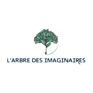 Logotype L'Arbre des Imaginaires par Graines de récits arbre-des-imaginaires-graines-de-recits-transition-ecologique-logo-spiritual-graphic-design-
