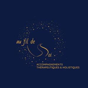 Logotype Au fil de Soi Accompagnement Thérapeutique et Holistique Dr Deborah Poucet Mathieu